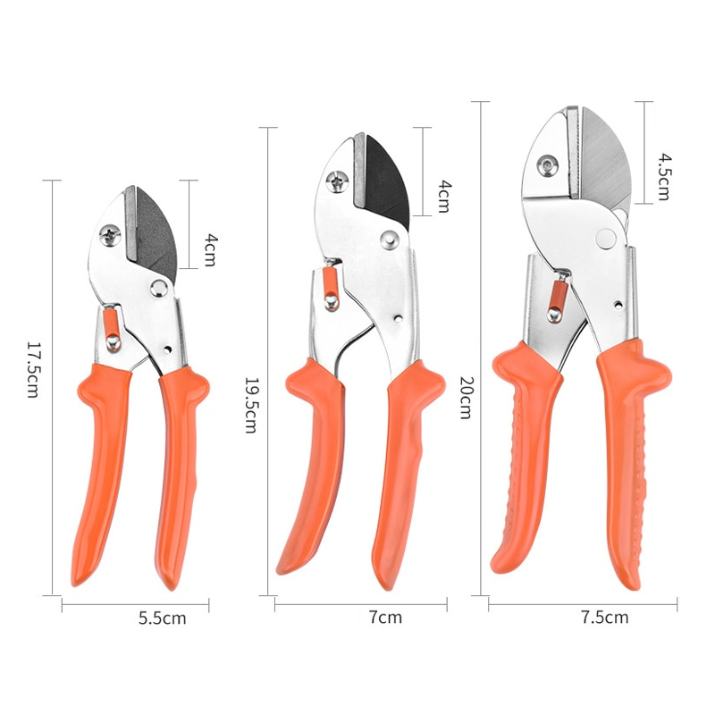 Pliers Steel Pruning Shears Powerful Scissors Fruit Tree Thick Branch Flower Scissors Tool Scissors Labor-saving And Durable