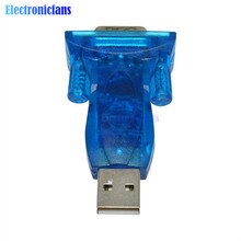 USB 2.0 à RS232 CH340G DB25/DB9 COM Port adaptateur convertisseur série 9Pin