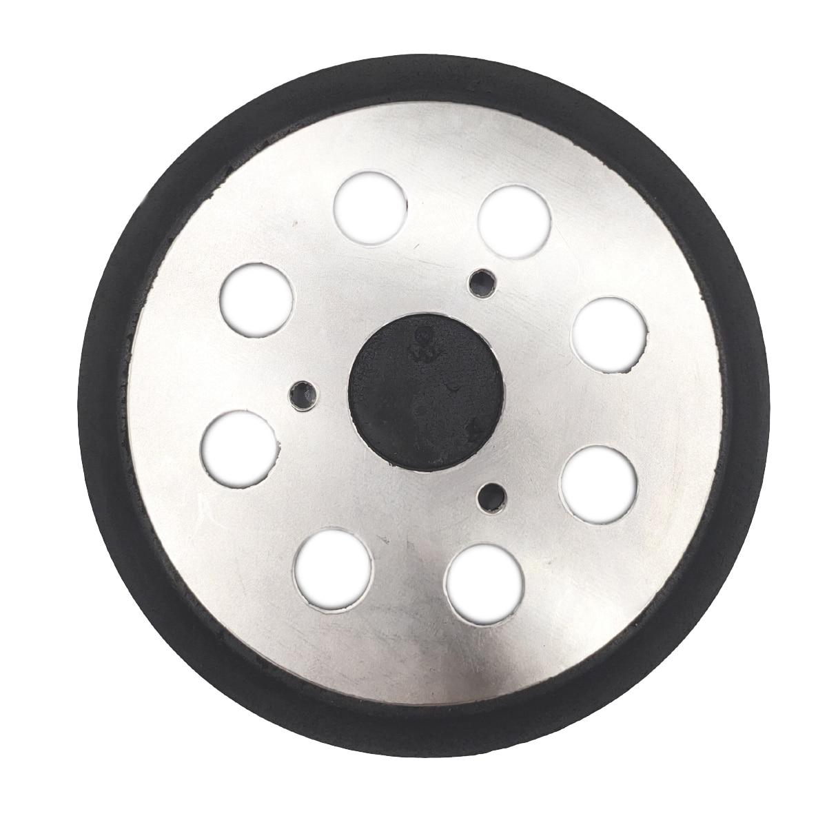STAC 5 Inch 8 Hole Orbital Sander Backing Pads Hook and Loop Replacement Sander Pad