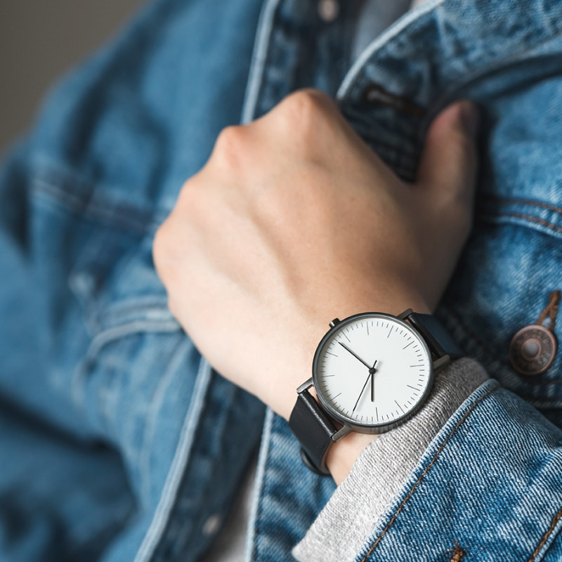 Retro Literature and Art Simple Design Male and Female Students Ins Fashion Trend Minimalist Watch Watch Women enlarge