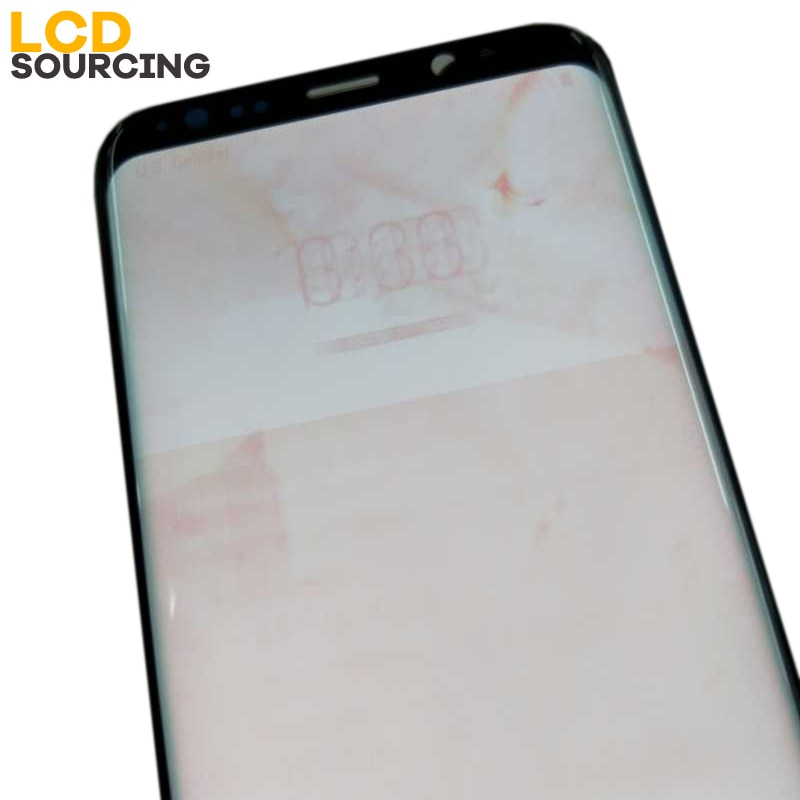 AMOLED BIGGER BIG RED BURN SHADOW For Samsung S8 G950 LCD Display Touch Screen Digitizer Assembly For S8 PLUS G955 G955F Replace enlarge