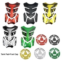 motorcycle decal stickers 3d fuel tank sticker pad decal cover gas cap for suzuki zx 6r zzr1400 z750 z800 z1000