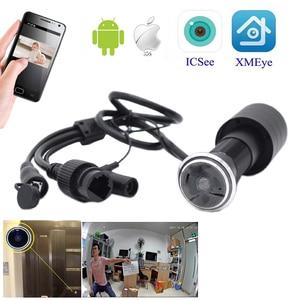 Wifi SD Card audio Door Eye Hole Security HD 1080P Onvif P2P Wide Angle FishEye CCTV Network Mini Peephole Door WifI P Camera