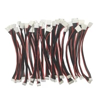 5pcslot 2s 3s 4s 5s 6s lipo battery balance charge extension line xh2 54mm male to female balancer connector cable