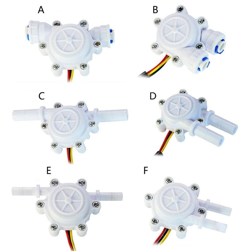 AliExpress - New Multiple styles Flow Sensor Control Meter Flowmeter Counter 0.2-8L/min Water Flow Sensor Switch Drinking Fountain Coffee