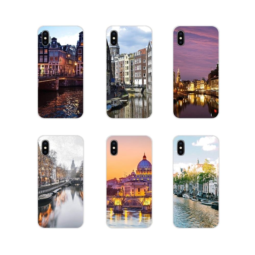 Amsterdam Holanda accesorios cubiertas de los casos del teléfono para Apple iPhone X XR XS 11Pro MAX 4S 5S 5C SE 6 6S 7 7 Plus ipod touch 5 6