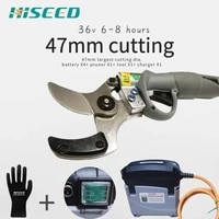 47mm the largest cutting diameter electric pruning shear electric scissors power secateurs 1 77inch ce 6 10 working hours