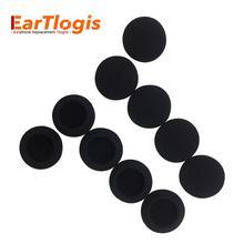 Eartlogis esponja substituição almofadas de ouvido para sennheiser pc230 pc8 PC-230 PC-8 usb fone de ouvido peças espuma capa earbud ponta travesseiro