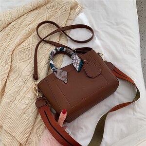 Fashion pu leather women's bucket bag large capacity composite bag hot female casual shoulder vintage messenger bag purses