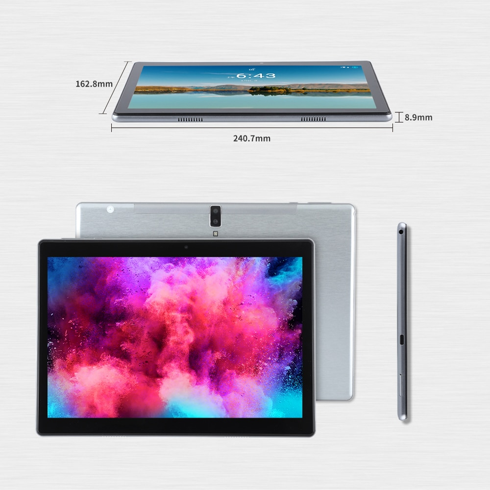 ANRY N60 10.1 Inch Android 10 Tablet 4G Network Octa Core SC9863A 4GB+ 64GM ROM IPS 1920x1200 AI Speed-up Tablets PC 2.4/5G Wifi enlarge