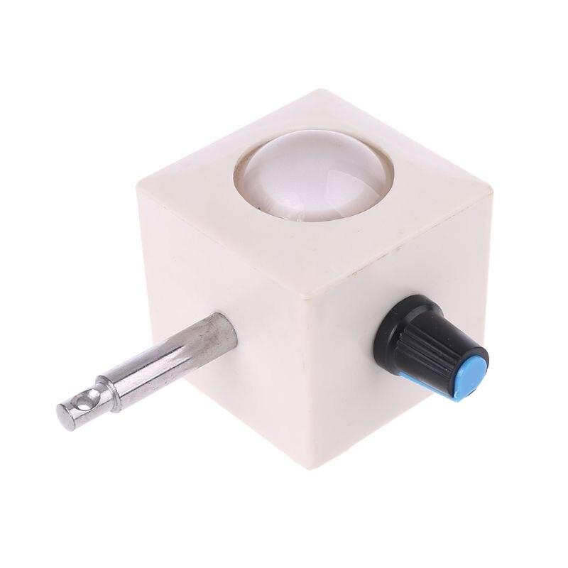 Usb branco led luz iluminação inferior biológico microscópio fonte da lâmpada ajustável 964e