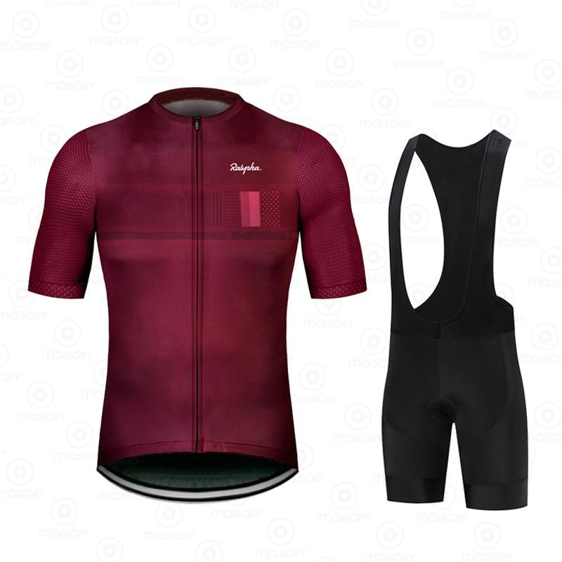 2021 فريق الرجال دراجة مجموعة دراجة موحدة الدعاوى تنفس دراجة هوائية جبلية الملابس ملابس رياضية الدراجات الملابس