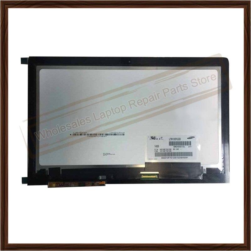 شاشة لمس LCD مقاس 13.3 بوصة لجهاز Lenovo Yoga 3 Pro 1370 ، 3200 × 1800 ، أصلي