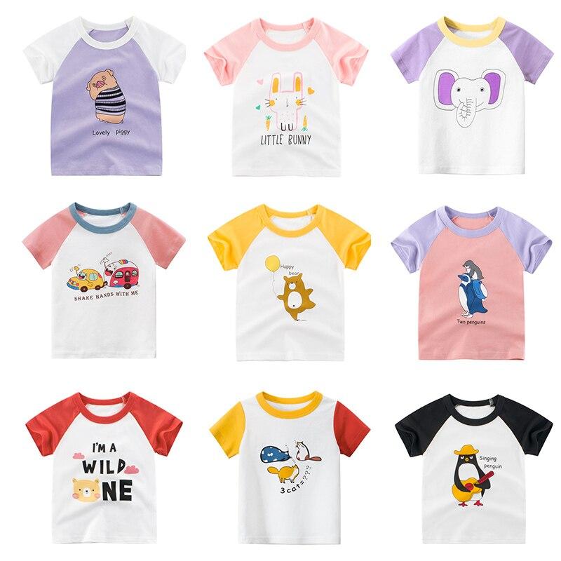 Футболки для девочек детские футболки детская одежда для маленьких мальчиков, Детские майки, футболка с короткими рукавами, Детские майки д...