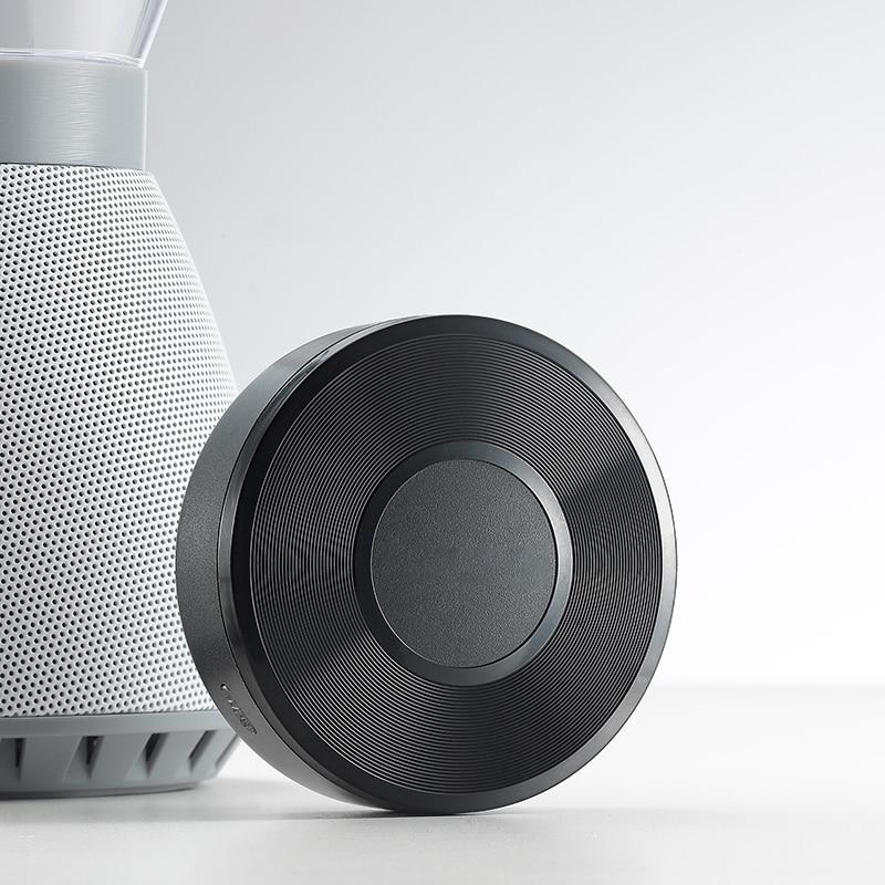 Streamer de música inalámbrico WIFI receptor de Muisc Audio y música al sistema de altavoz multisala para adaptador de aire de Audiocast