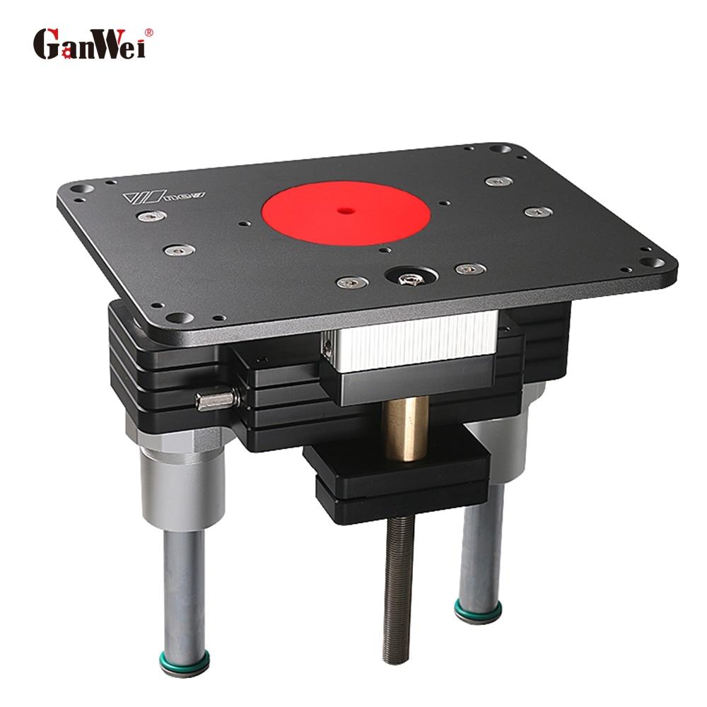 GanWei-محرك تفريز ، محرك رفع ، تقليل محرك الطحن ، باستخدام أدوات النجارة بمقبض قابل للإزالة