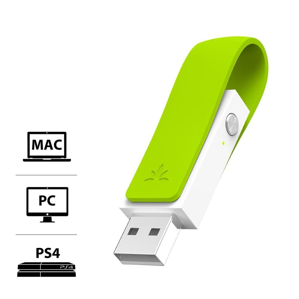 Avantree Long Range USB Bluetooth Audio Transmitter Adapter für PC Laptop Mac Schalter, Wireless Audio Dongle für Kopfhörer