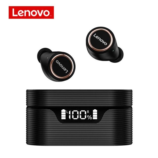 Беспроводные наушники Lenovo LP12, TWS, Bluetooth 5,0, водонепроницаемая Спортивная гарнитура, интеллектуальный цифровой дисплей с микрофоном, музыкальные наушники | Электроника | АлиЭкспресс