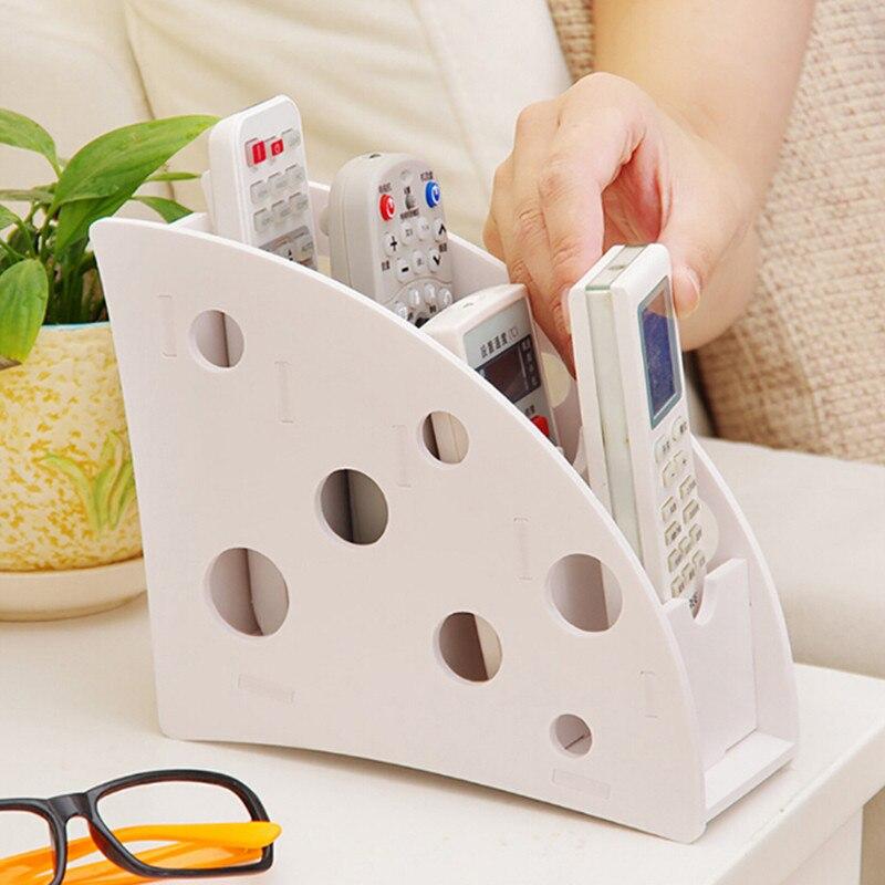 Nuevo soporte de Control remoto para aire acondicionado de TV de madera y plástico respetuoso con el medio ambiente 2020, caja de almacenamiento de artículos diversos, caja organizadora para escritorio