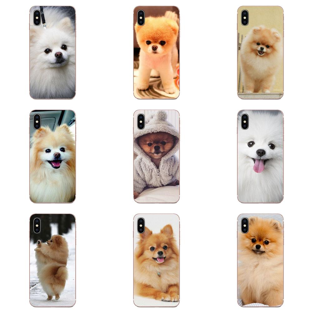 Fundas de TPU para Huawei Mate 9 10 20 P P8 P9 P10 P20 P30 P40 Lite Pro Smart 2017 Pomerania perros perro