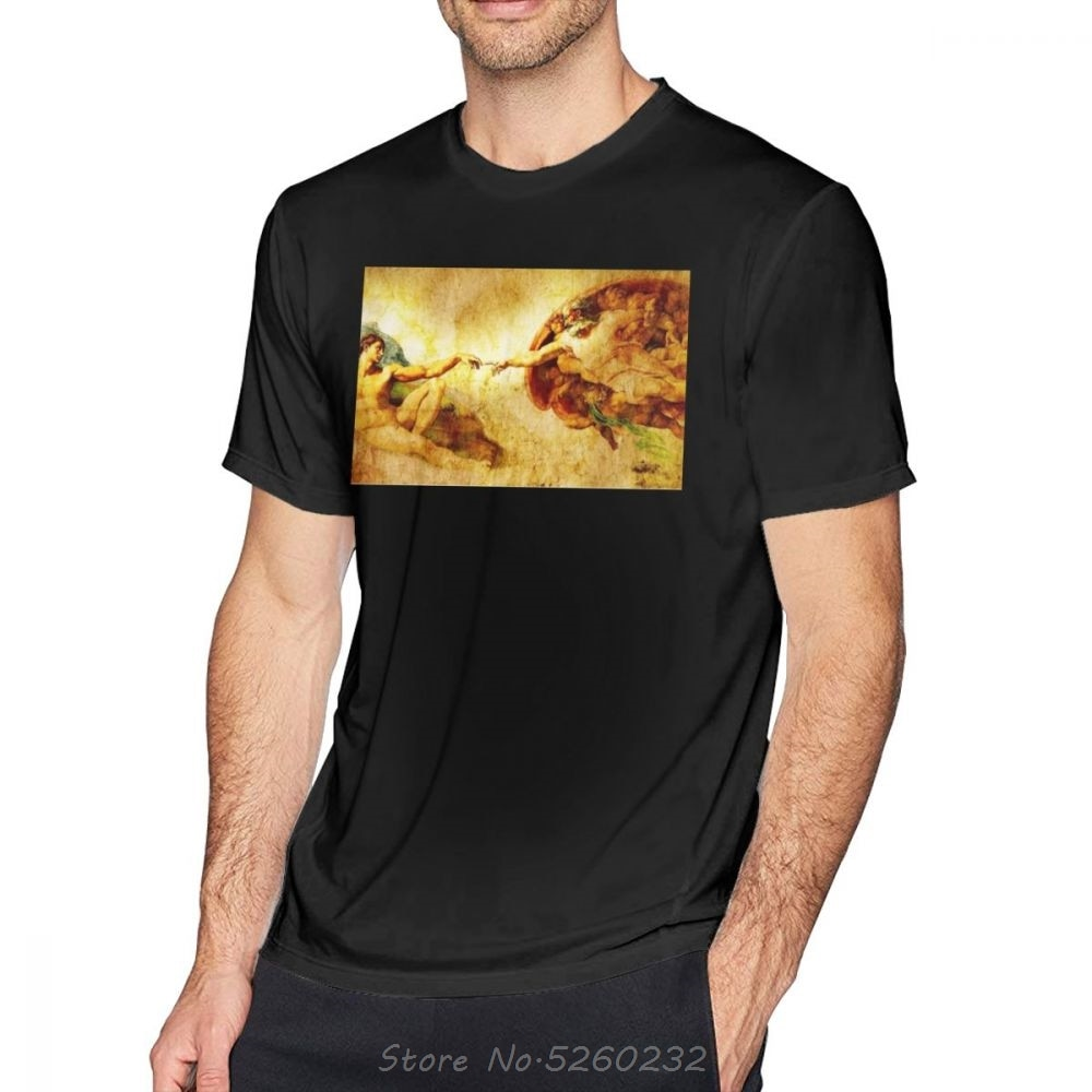 Davinci футболка Классическая футболка принт короткий рукав Милая летняя Хлопковая мужская футболка уличная одежда