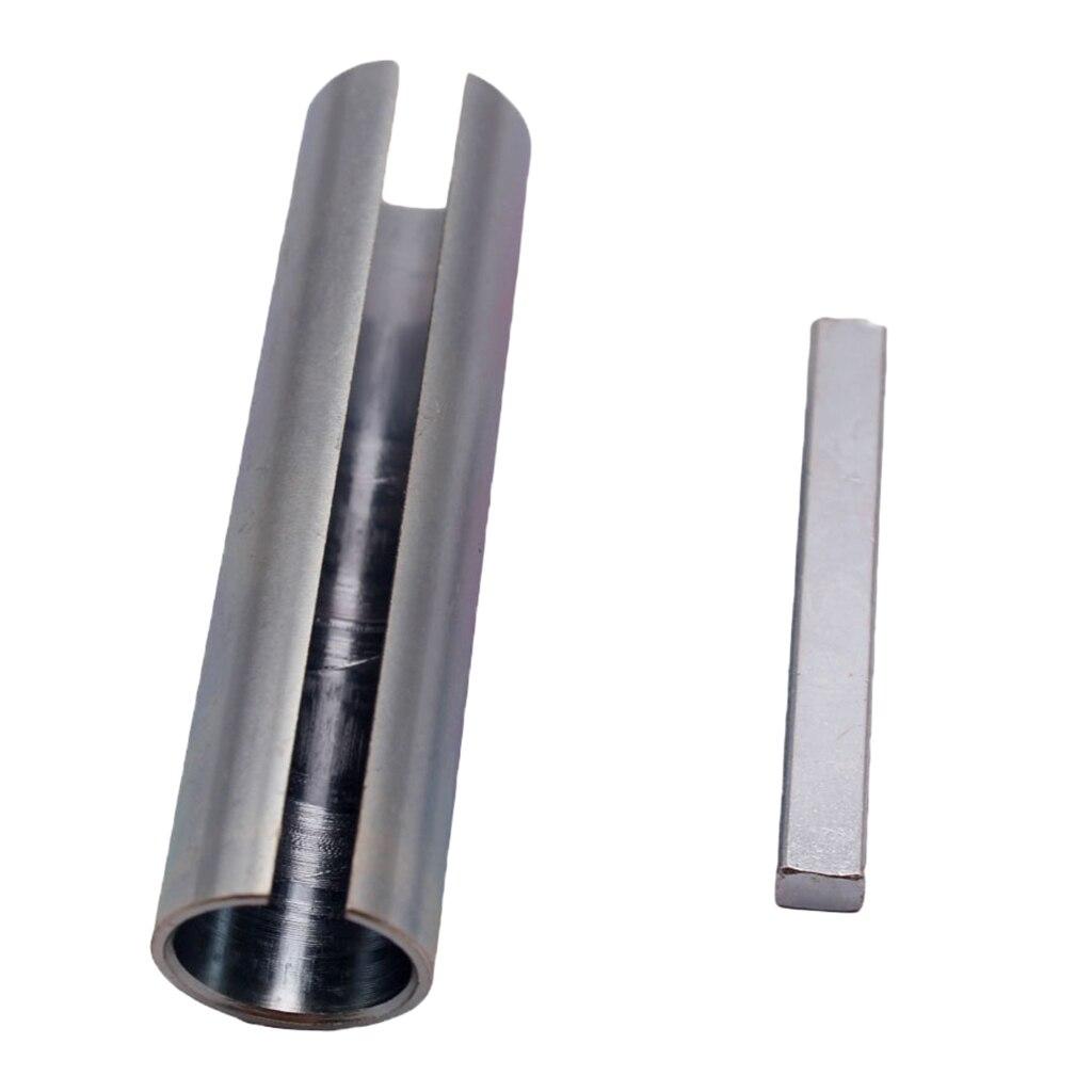 Шкив для газового двигателя из нержавеющей стали от 5/8 до 3/4 дюймов, шкив для коленчатого вала, втулка-переходник, редуктор отверстия, втулка и ключ