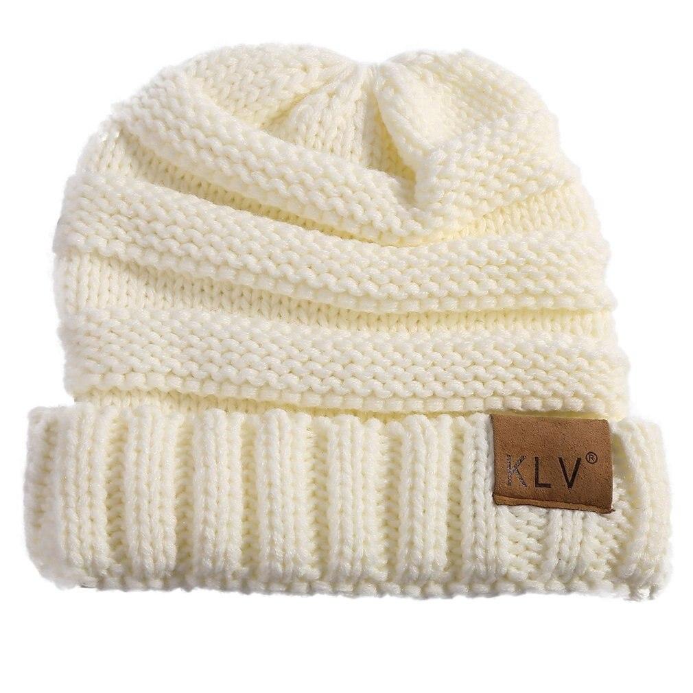 Детские зимние шапки, белые шерстяные вязаные детские теплые шапки унисекс, брендовые дизайнерские высококачественные милые шапочки для м...