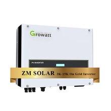 Sur la grille onduleur norme AMÉRICAINE 5KW MTL-US 240v split phase growatt onduleur de grille solaire