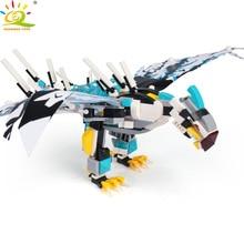 Toys 504pcs Dragon Ninjaed Movie Flying Eagle Kai Jay Building Blocks Figures Bricks for Boys
