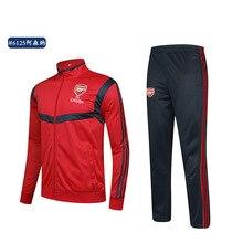 Customizable Team Football Uniform Set Men's Adult Children Long Sleeve Training Suit Spring And Autumn Light Board Sports Cloth