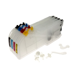 Long Refillable Ink Cartridge LC11 LC16 LC38 LC61 LC65 LC980 LC990 For Brother MFC-490CW MFC-490CN MFC-670CD MFC-670CDW