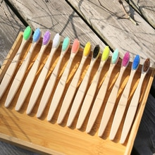 10 sztuk/zestaw bambusowe szczoteczki do zębów miękkie włosie pielęgnacja jamy ustnej podróży szczoteczka do zębów chronić gumy ekologiczne szczotki dla dorosłych dzieci
