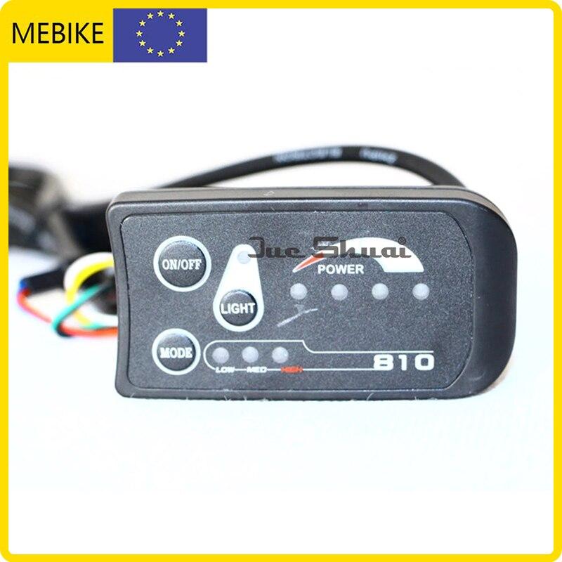 Pantalla LED sin impuestos para bicicleta eléctrica, controlador de conexión, muestra la...