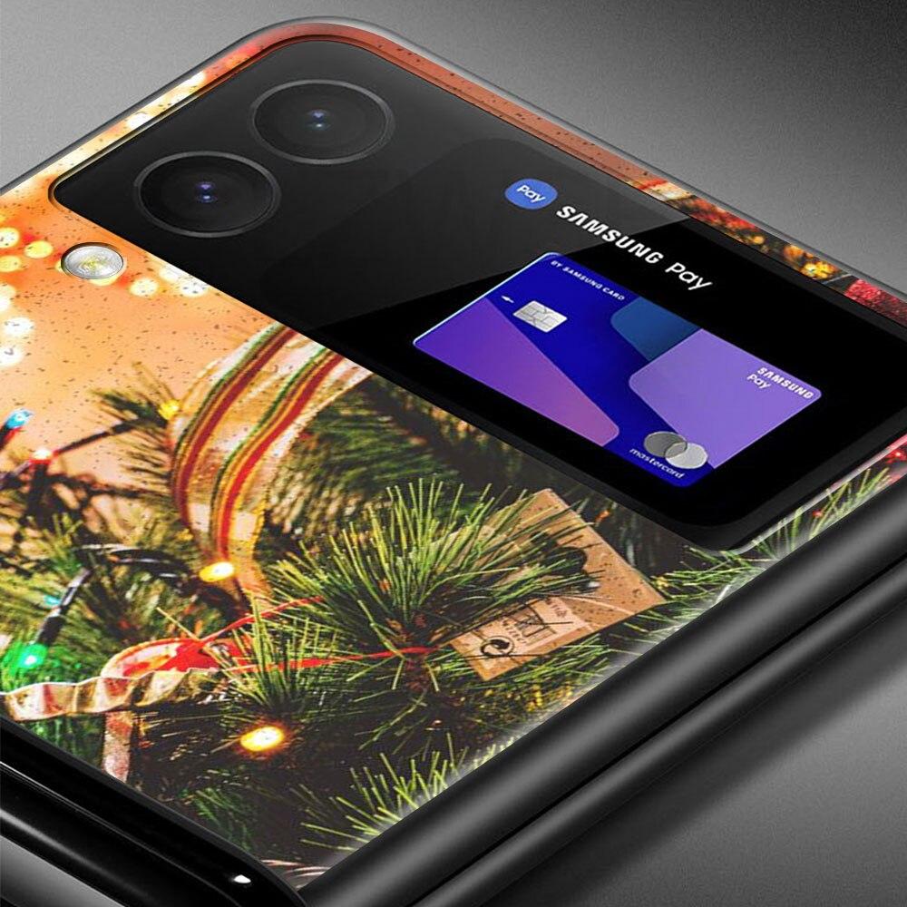 Christmas Lights Tree Folding Phone Case for Samsung Galaxy Z Flip 6.7