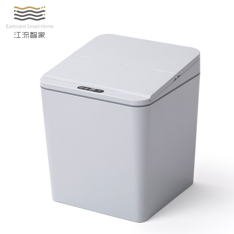 Automatic Kitchen Trash Can Living Room Bedside Table Trash Can With Cover Modern Minimalist Cubo De Basura Cleaning Tool BS5LJT enlarge