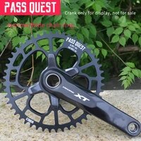 pass quest 96bcd mtb oval narrow wide chainringchain ring 32t 48t bike bicycle chainwheelchain wheel deore crankset