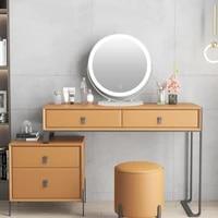 bath mirror led bath mirrors single control cool white 6500k frame rotatable round makeup mirror 5050cm bathroom fixture hwc