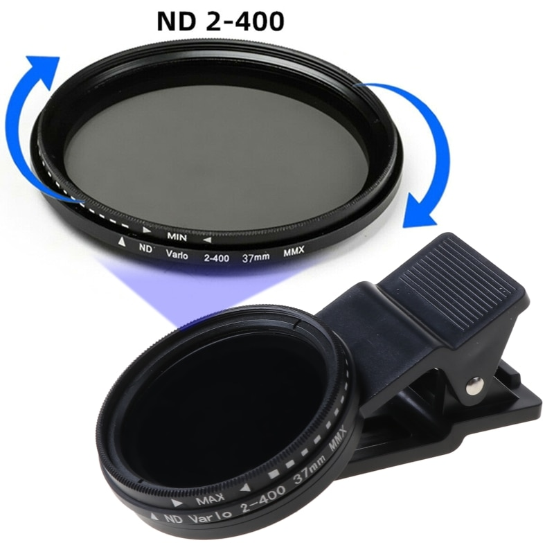 2021 New Photography Portable Camera ND2 To 400 Mobile Phone Neutral Density ND Filter