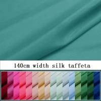 solid color silk double palace fabric silk taffeta fabric pine green teng green smokey violet kaki brown coffee color