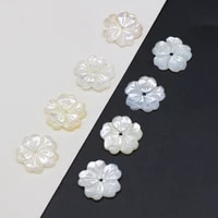 wholesale white freshwater shell pendant bead jewelry fashion shell carving handmade diy necklace earrings jewelry making 3pcs