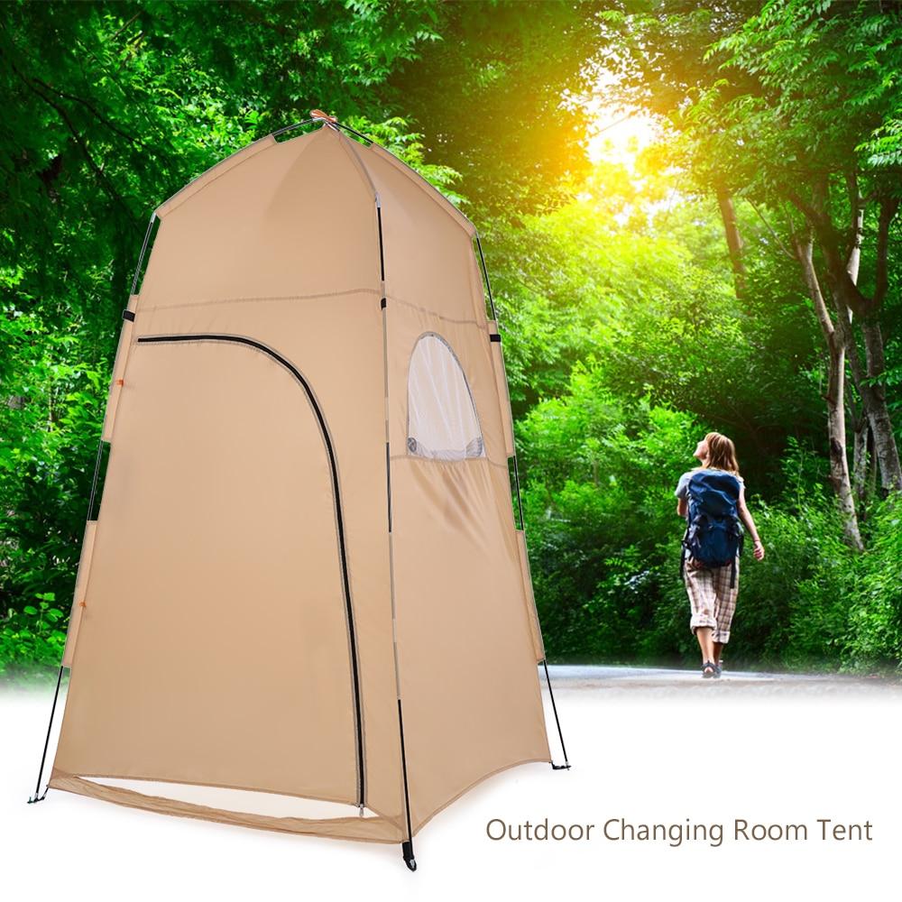 TOMSHOO-خيمة دش محمولة ، مأوى خارجي ، معدات تخييم ، خيمة مرحاض