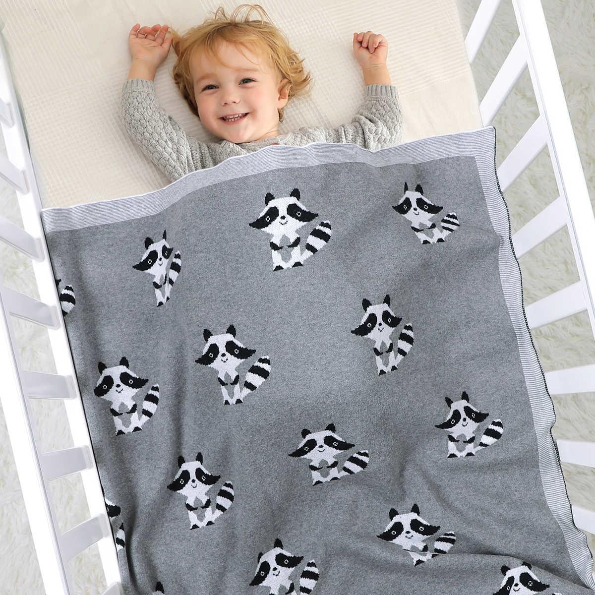 Cartoon Baby Receiving Blanket New Infant Kids Swaddle Wrap Blanket Sleeping Warm Quilt Bed Cover Blanket