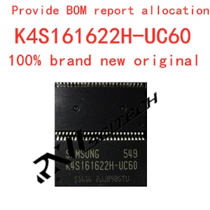 100% new memory granule K4S161622H-UC60 tsop flash DDR SDRAM routing upgrade memory provides BOM allocation