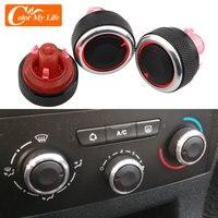 3 шт./компл. для Peugeot 307 для Citroen C-TRIOMPHE C4 переключатель ручка нагреватель климат Управление кнопки рамка переменного тока воздуха Ручка крышка...