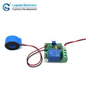 AC Current Sensor Current Transformer 0-50A 20A 10A 5A Overcurrent Short-Circuit Protection Detection Module