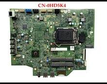 Hohe qualität CN-0HD5K4 für Dell Inspiron 3048 AIO Motherboard LGA1155 HD5K4 13048-1 DDR3 100% Getestet