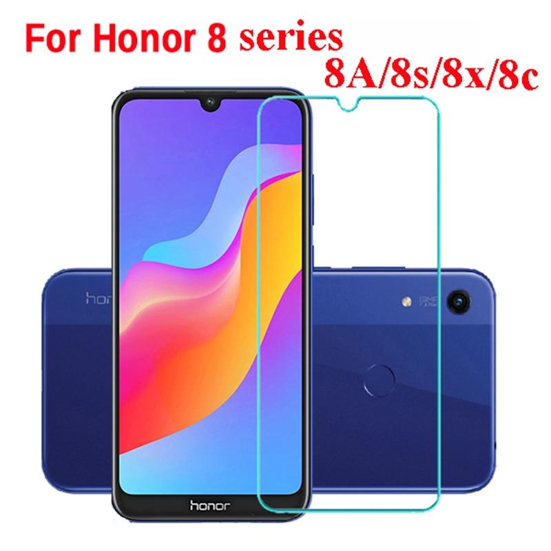 1-3 piezas de vidrio templado para Huawei Honor 8a 9a 10 para Huawei 8a prime p30 lite película protectora de vidrio de seguridad