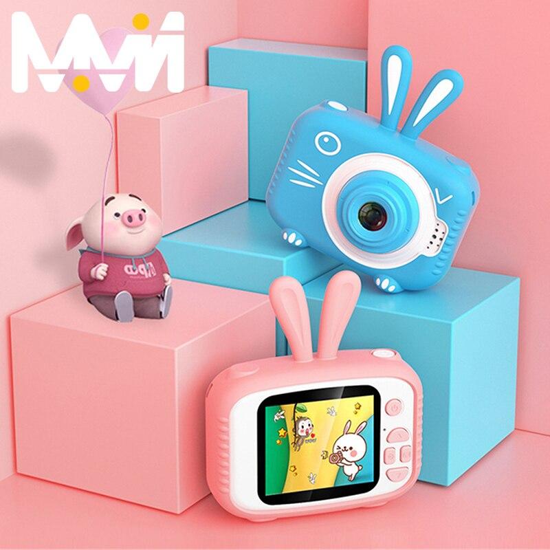 Kids Camera 2.0'' Mini Camera IPS Screen HD 1080P Children Digital Photo Camera Toy Kids Toys Rechargeable Battery Birthday Gift