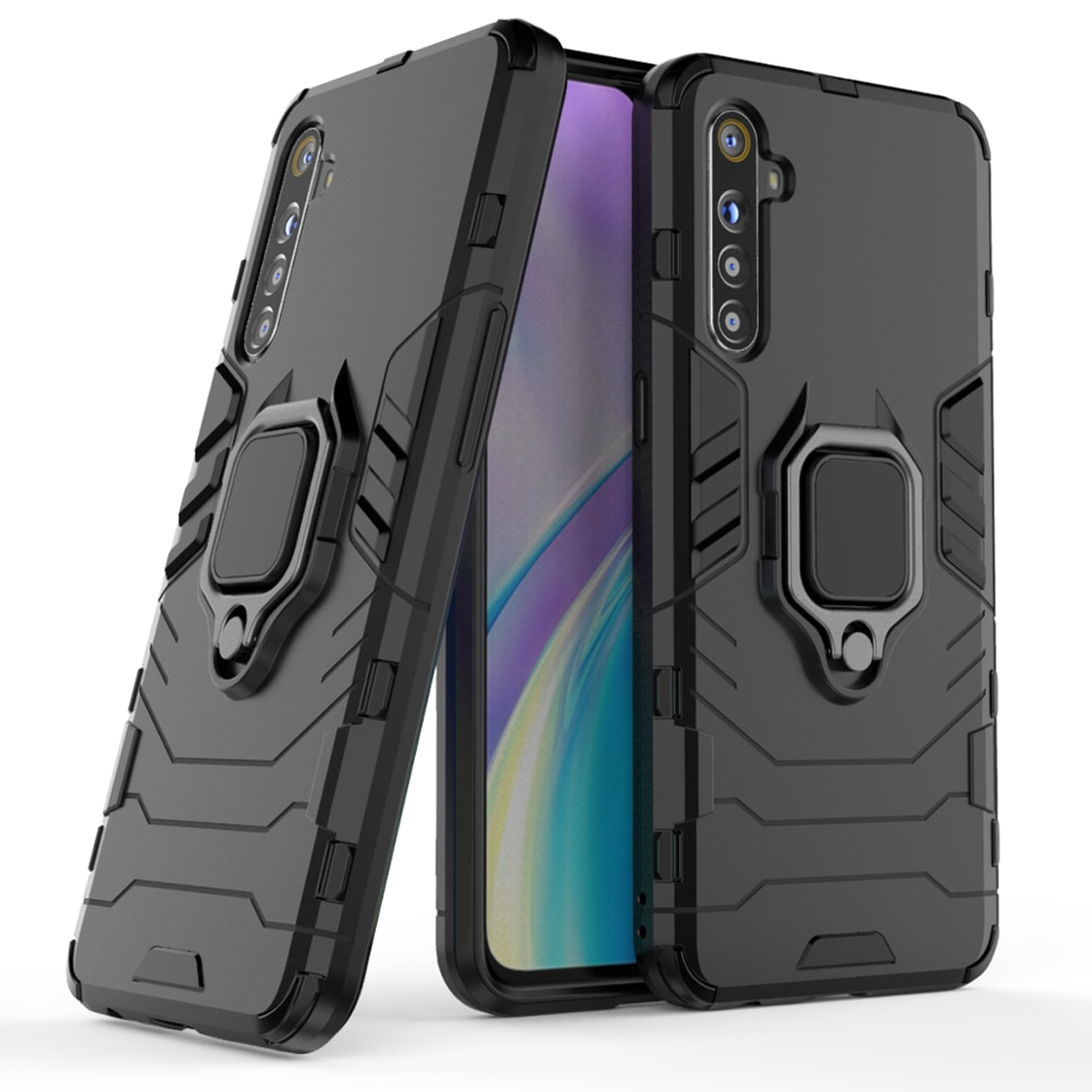 Auto Halter Magnet Ring Telefon Fall Silikon Abdeckung Auf Für Oppo Realmi Realme XT X2 6 Pro X T 2 realmeXT Realme6 64/128 GB Globale