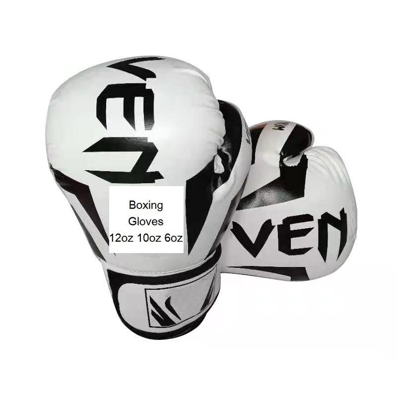 Боксерские перчатки Sanda 12 унций 10 унций, Мужские боксерские тренировочные Перчатки для фитнеса и бокса, боксерские перчатки, перчатки для бо...